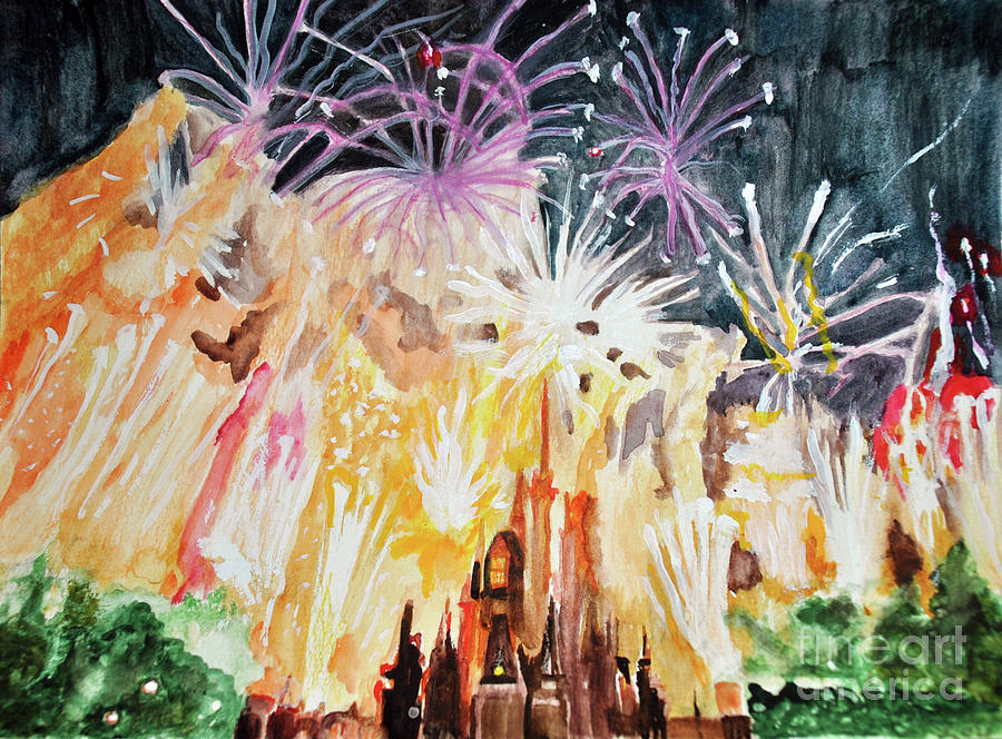 Cinderellas Fireworks by Lori Moon