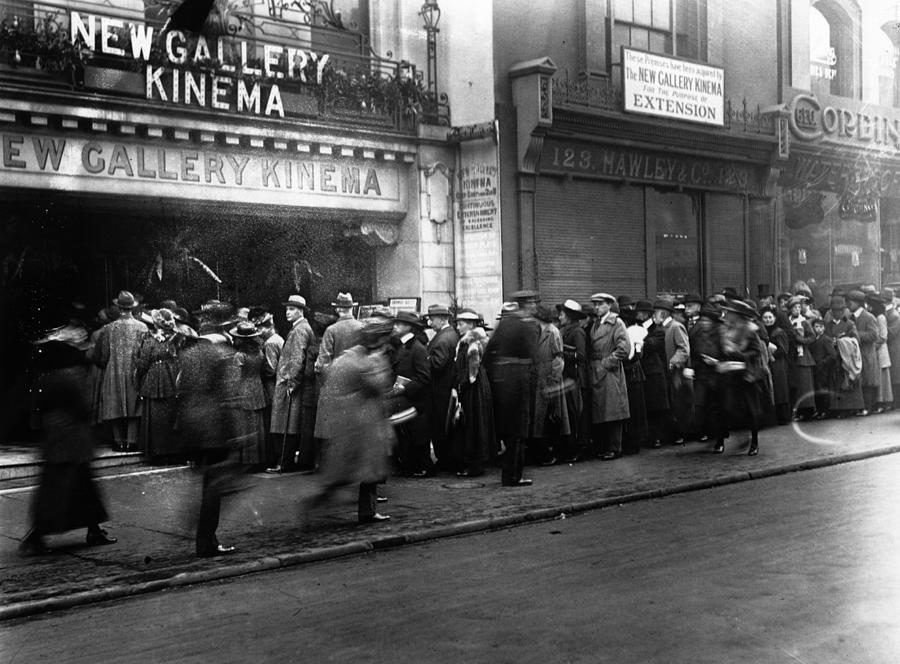 Cinema Crowd Photograph by A. R. Coster