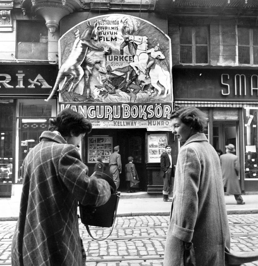 Cinema Delight Photograph by Bert Hardy