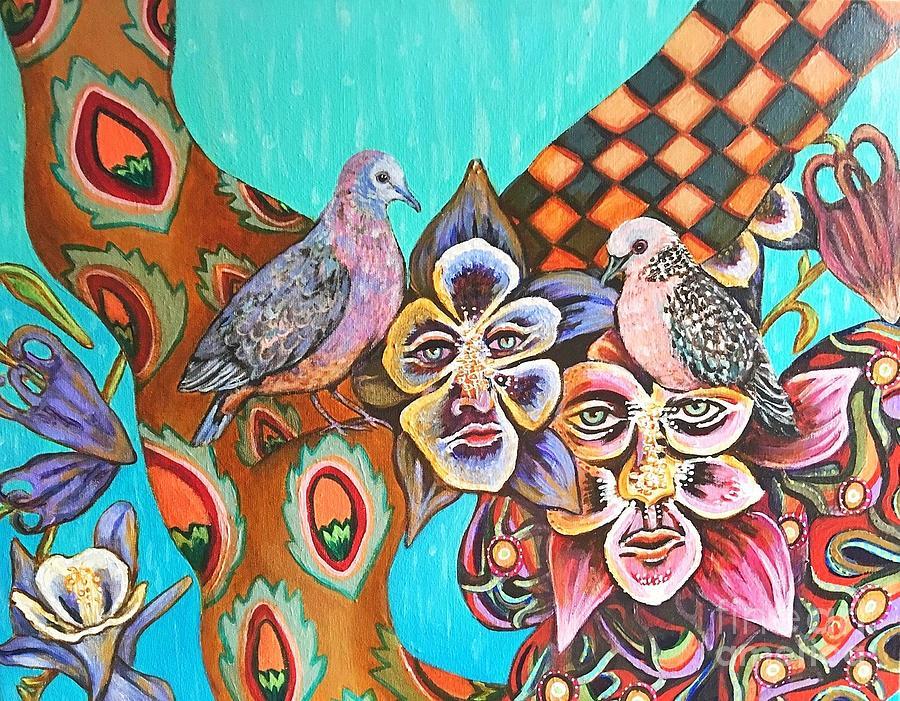 Cinnamon Doves by Linda Markwardt