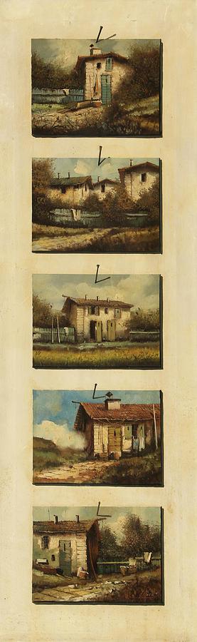 cinque gocce di Toscana Painting