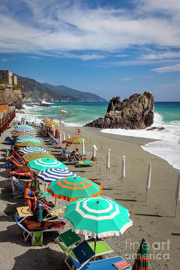 Cinque Terre Beach II by Brian Jannsen