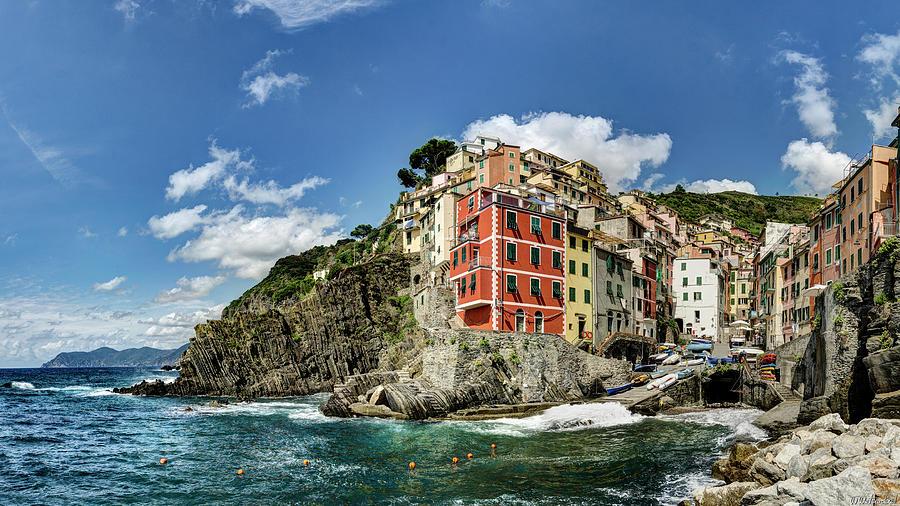 Cinque Terre - View of Riomaggiore Closer by Weston Westmoreland