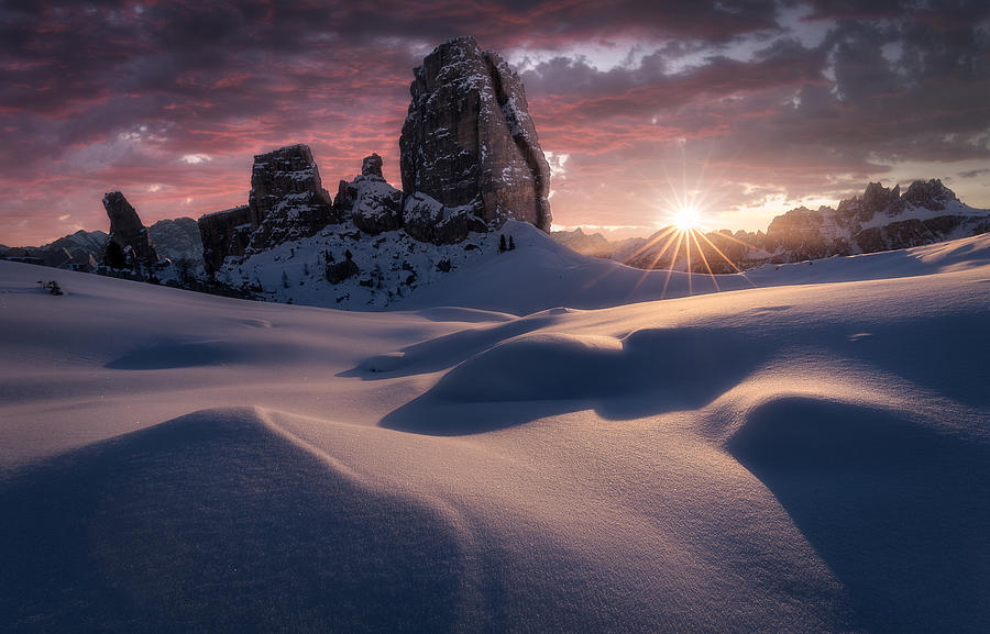 Cinque Torri Photograph - Cinque Torri, Dolomites, Italy by Photography by KO