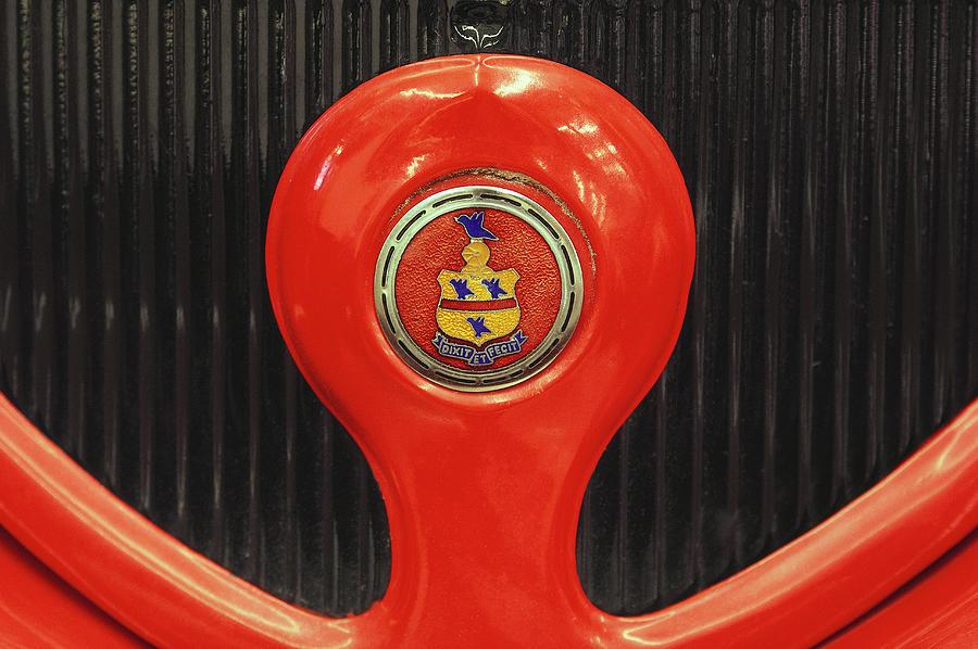 Circa 1930s Pierce Arrow Grill Detail Photograph by Car Culture