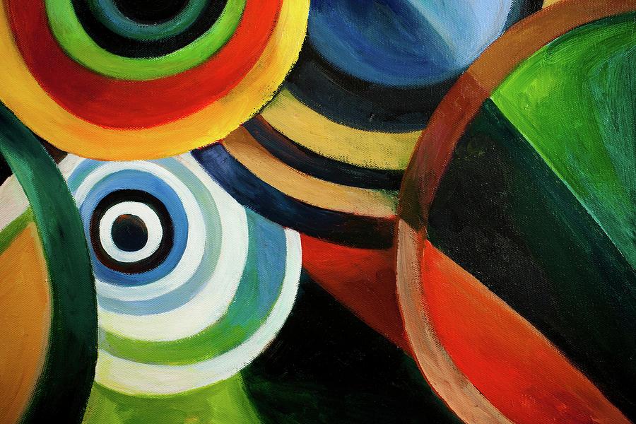 Circle Backgrounds Xxxl Digital Art by Ieverest
