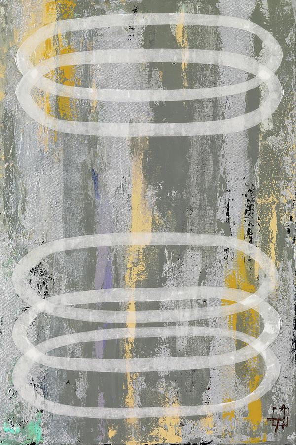 Circles 2 3 Painting By Natalie Avondet