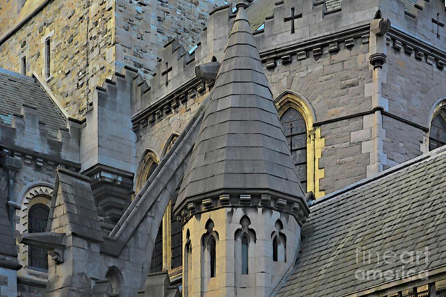 Circular Turret at Christ Church Dublin by Rebecca Carr