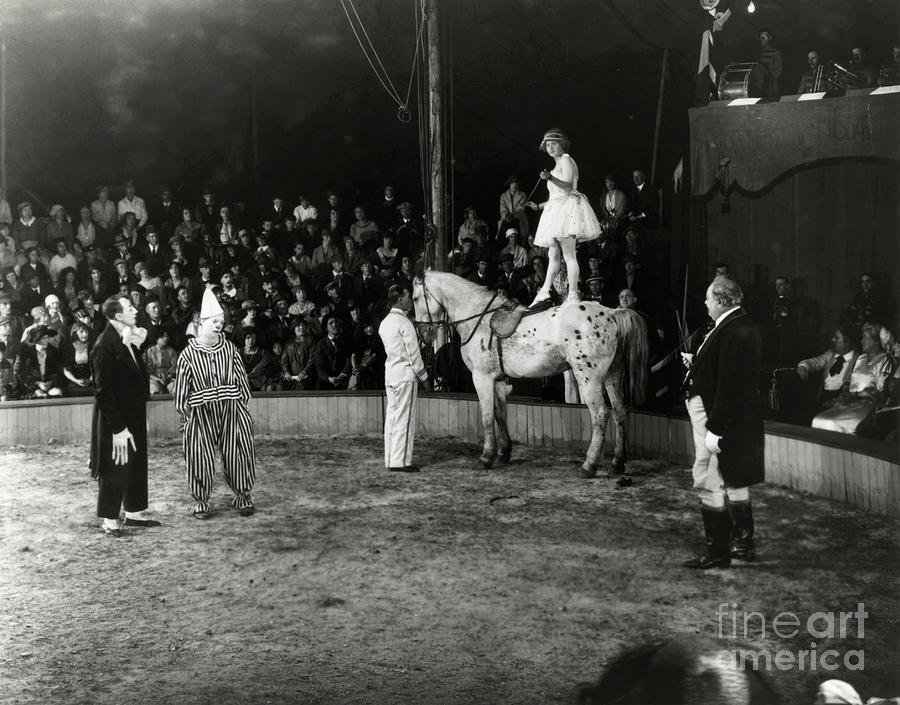 Circus Acts Photograph by Bettmann