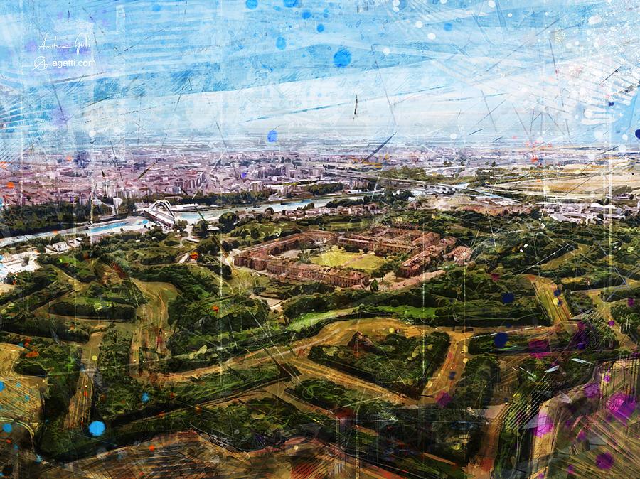 Cittadella Alessandria Digital Art