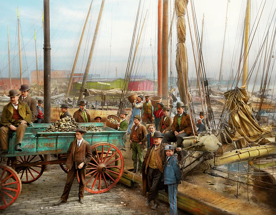 City - Baltimore MD - So shellfish 1905 by Mike Savad