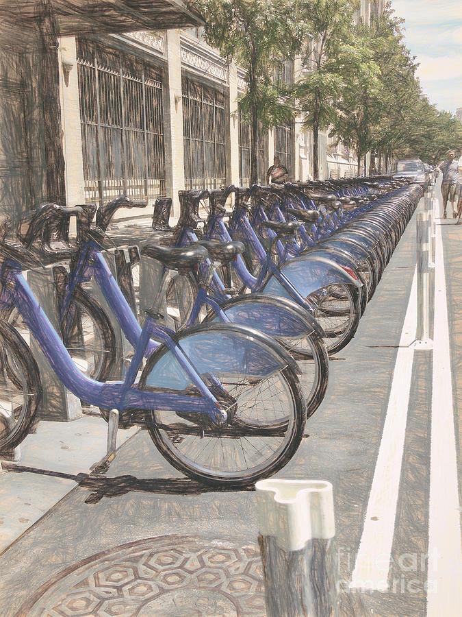 City Bikes NYC by Susan Lafleur