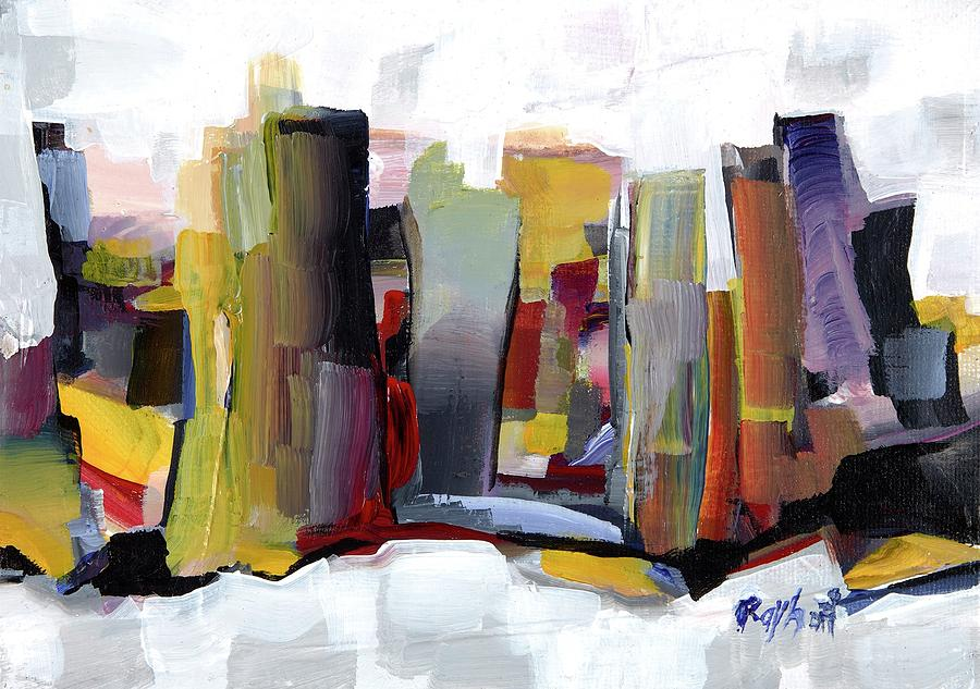 City By the Bay Painting by Artist Rayhart