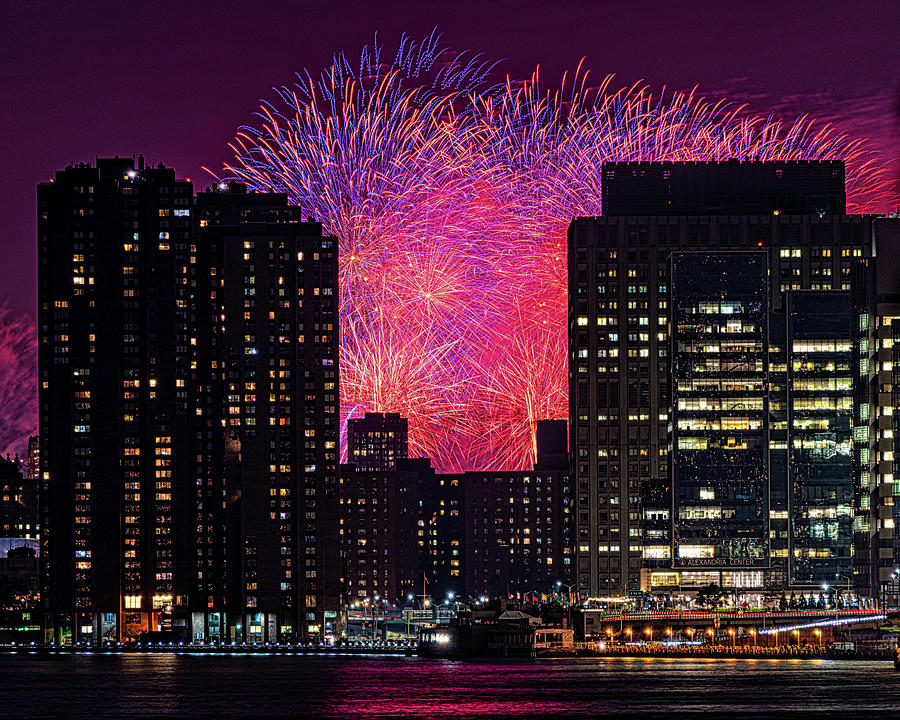 City Fireworks by Chris Lord
