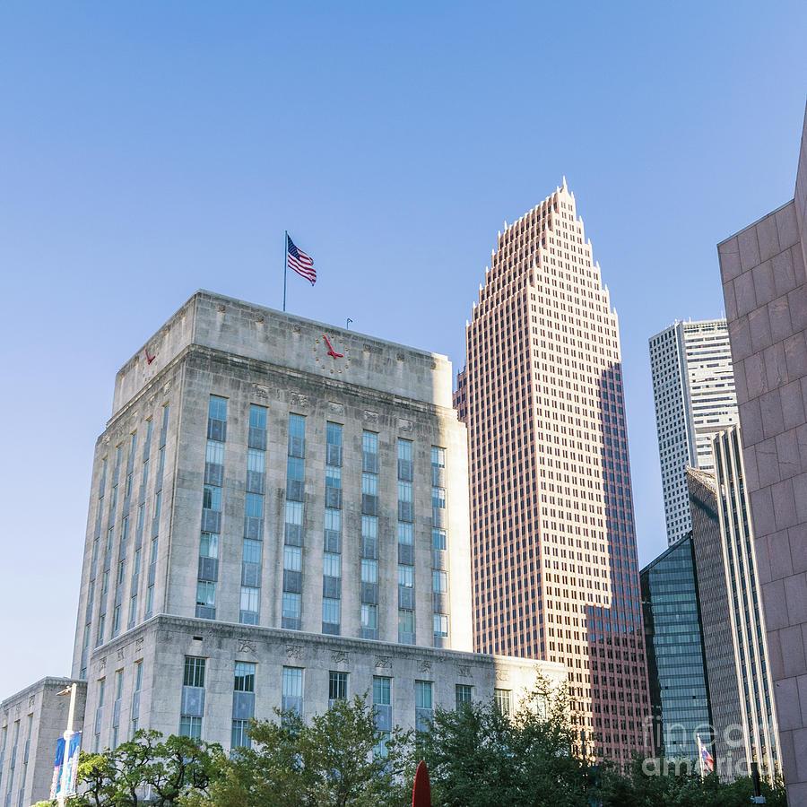 City Hall, Houston, Texas Photograph By D Tao