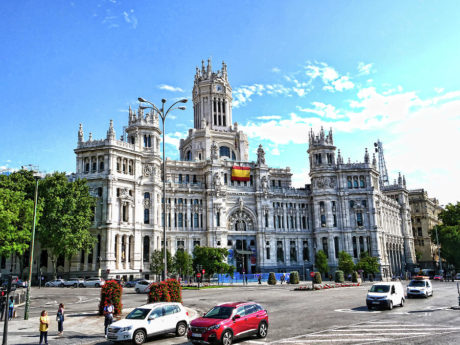 City Hall - Madrid Photograph