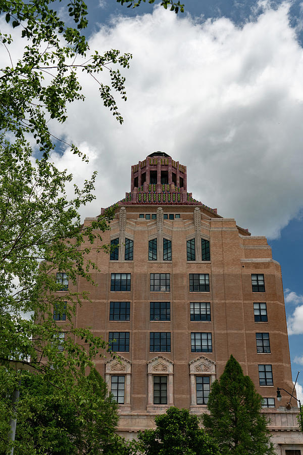 City Hall of Asheville by Joye Ardyn Durham