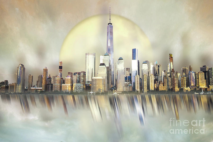 City in the Sky by Hal Halli