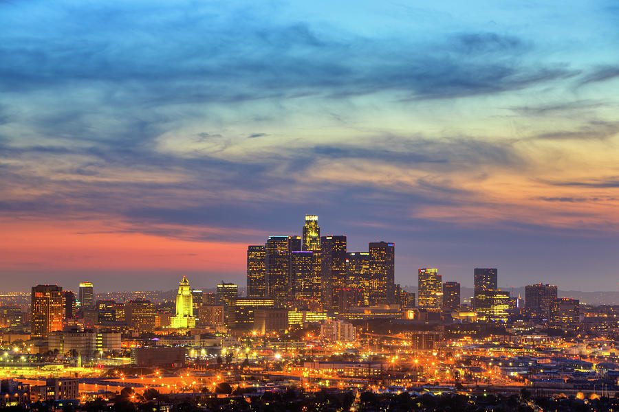 City In Twilight Photograph By Eric Lo