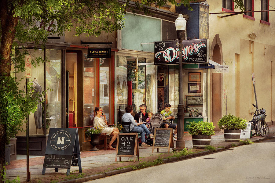 City - Kingston NY - Diego's Taqueria by Mike Savad