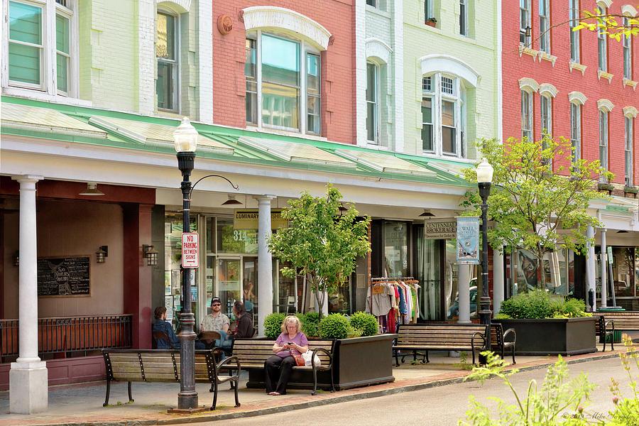 City - Kingston NY - Historic Kingston by Mike Savad