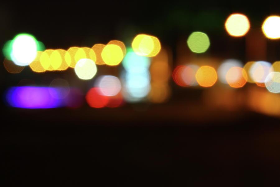 City Lights Photograph by Aydinmutlu