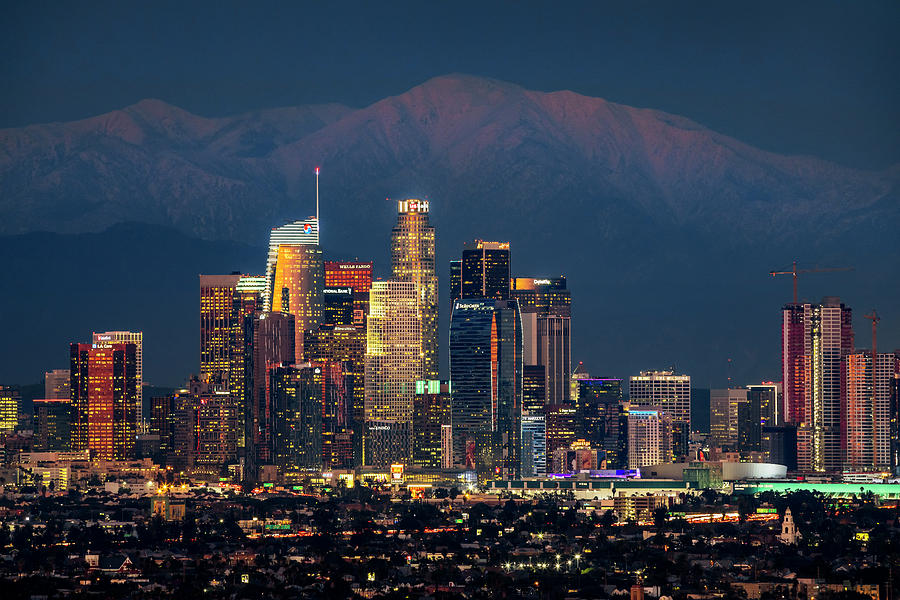 City Lights of Los Angeles by Kelley King
