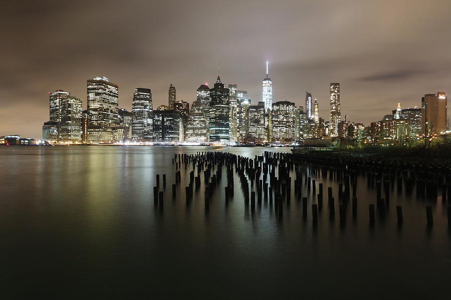 City Lit Up At Night Photograph by Damien Gavios / Eyeem