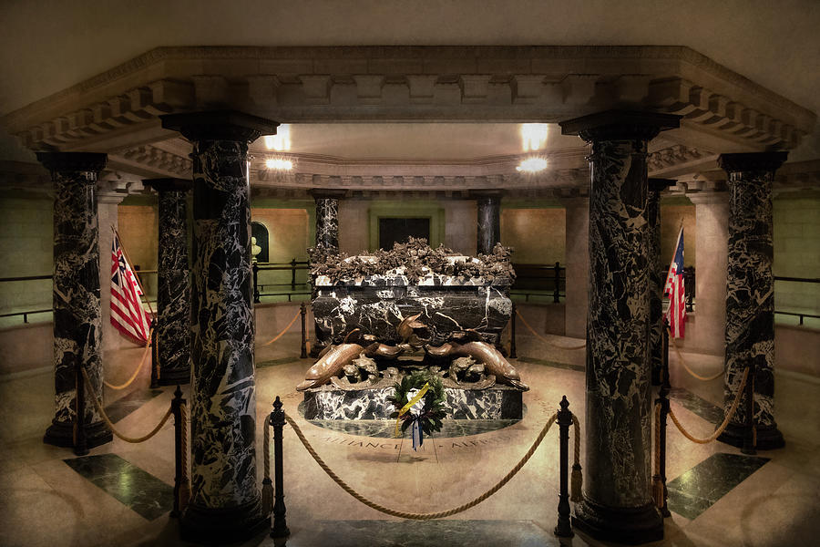 City - Naval Academy -  Crypt of John Paul Jones by Mike Savad