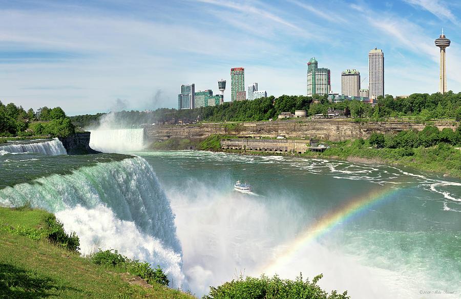 City - Niagara  NY - The Ontario Skyline by Mike Savad