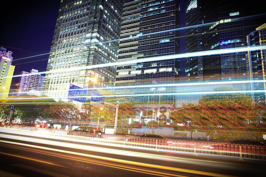 City Night Photograph by Kanmu