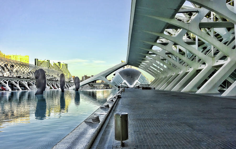 City Of Arts And Sciences  # 13 - Valencia Photograph