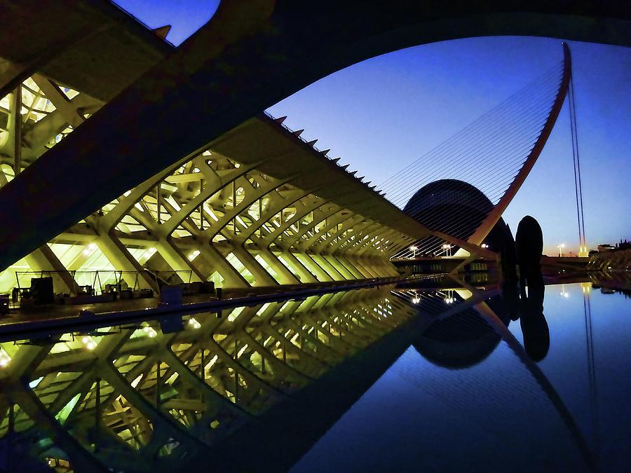City Of Arts And Sciences  # 16 - Valencia Photograph