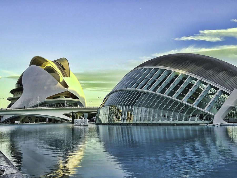 City Of Arts And Sciences  # 19 - Valencia Photograph