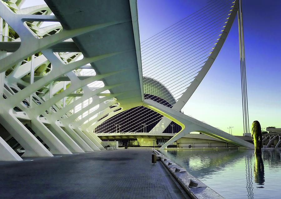City Of Arts And Sciences  # 22 - Valencia Photograph