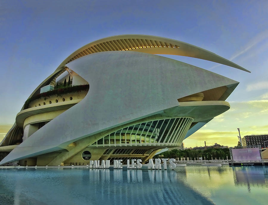City Of Arts And Sciences  # 9 - Valencia Photograph
