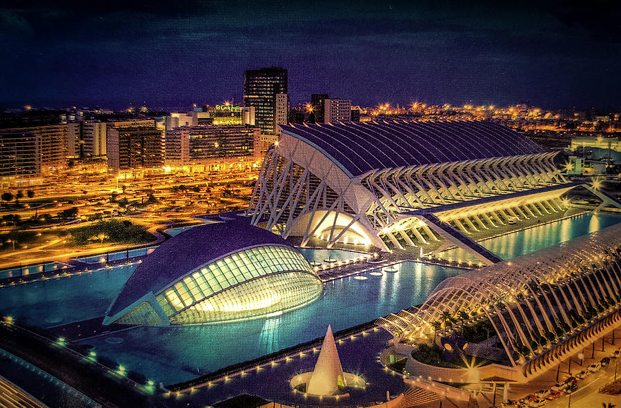 City of Arts and Sciences in Valencia, Spain by Art Spectrum