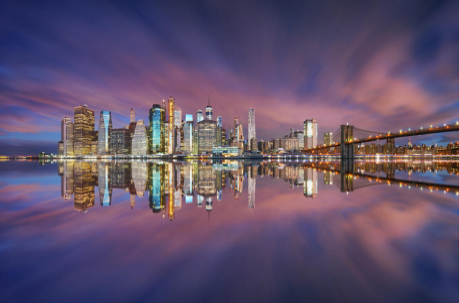 City Of Blinding Lights Photograph by Carlos F. Turienzo