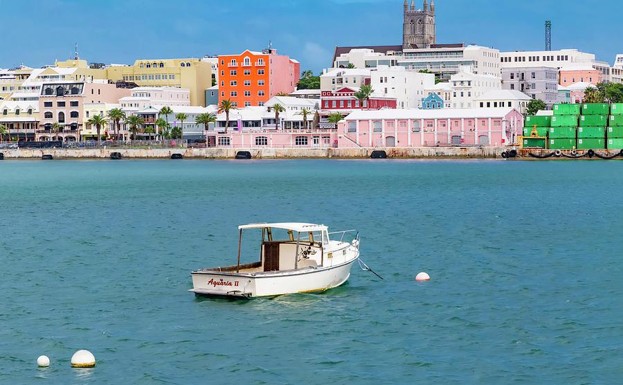 Bermuda Photograph - City Of Hamilton Bermuda by Betsy Knapp
