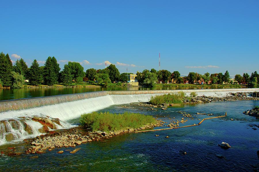 City Of Idaho Falls Photograph by Picmax
