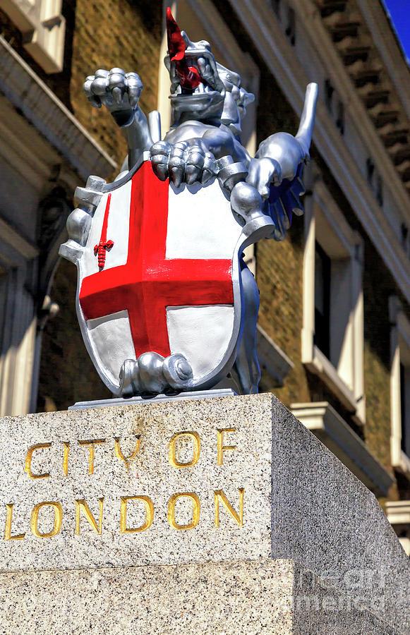 City of London Dragon by John Rizzuto