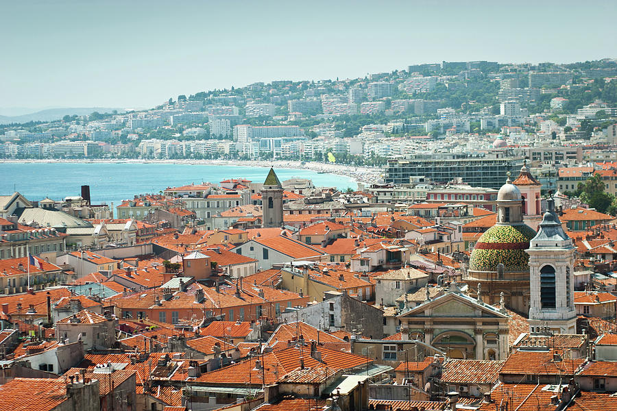 City Of Nice, France Photograph by Jeja