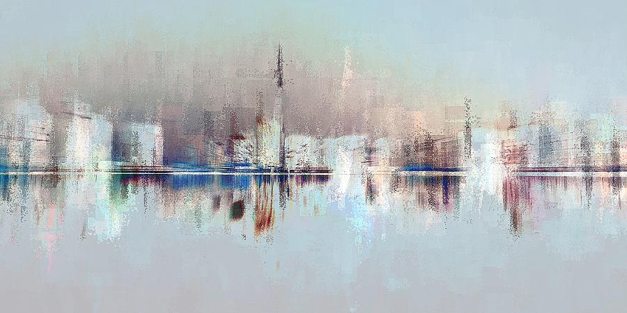 City of Pastels by David Manlove