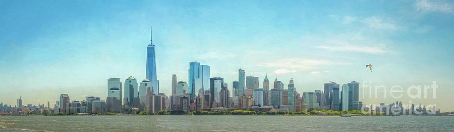 City Skyline Pano by Joseph Perno