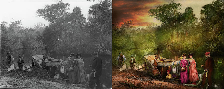 City - Volusia County FL - Far from impressed 1893 - Side by Side by Mike Savad