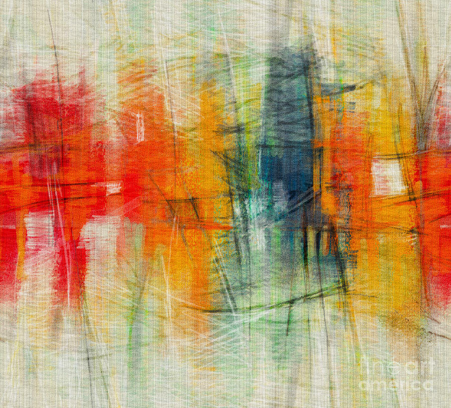 Cityscape Abstract by CR Leyland