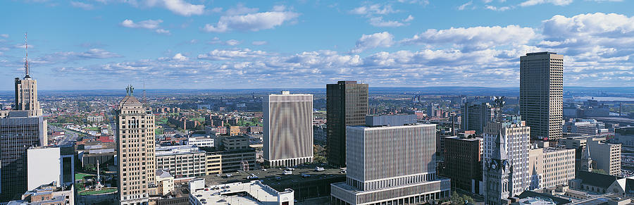 Cityscape, Buffalo, New York State, Usa Photograph by Panoramic Images