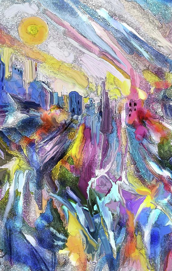 Cityscape by Jean Batzell Fitzgerald
