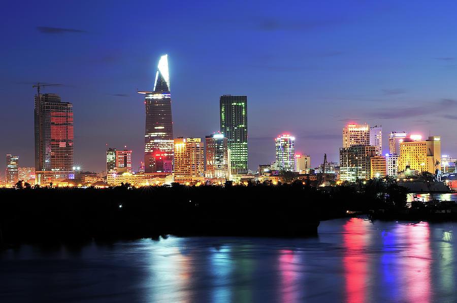 Cityscape Of Ho Chi Minh City Photograph by T E K