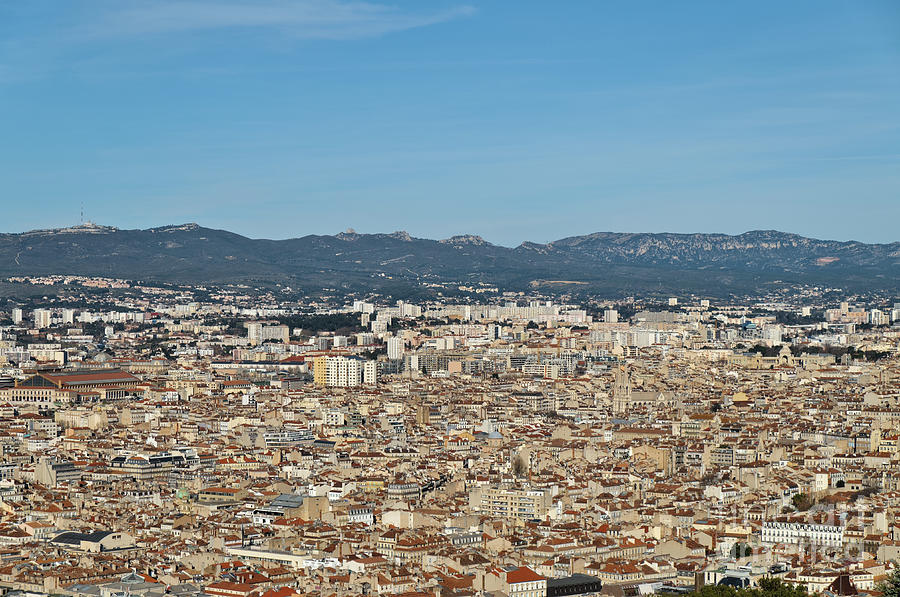 Cityscape of Marseille by Angelo DeVal